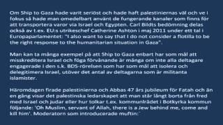 Gingrich viker inte om palestinierna