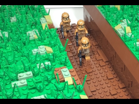 Lego star wars clone trench moc with speedbuild youtube - Croiseur star wars lego ...