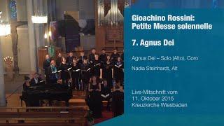 convivium musicum mainz: Rossini - Petite Messe solennelle - 7. Agnus Dei