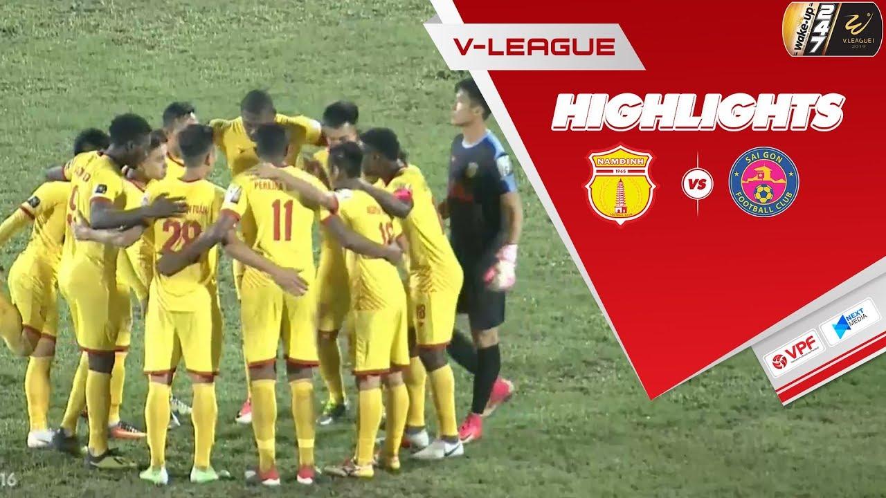 Video: Nam Định vs Sài Gòn