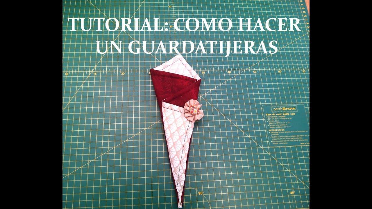 Iniciaci n al patchwork 2 como hacer un guardatijeras - Como hacer pachwork ...
