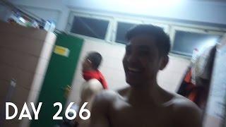 Download Video (Day 266) Mandi bareng !! dan latian basket kampus jadi alumni MP3 3GP MP4