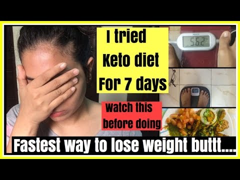 I tried KETO DIET for a week | Fastest way to lose weight | INDIAN KETO DIET| Azra Khan Fitness