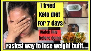 I tried KETO DIET for a week   Fastest way to lose weight   INDIAN KETO DIET  Azra Khan Fitness