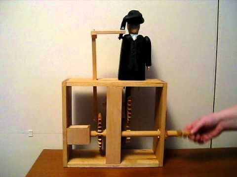 Gangster - woodwork automata