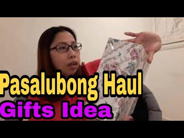 PASALUBONG HAUL | GIFTS IDEA | Pinay sa Abroad | mhay Labrador