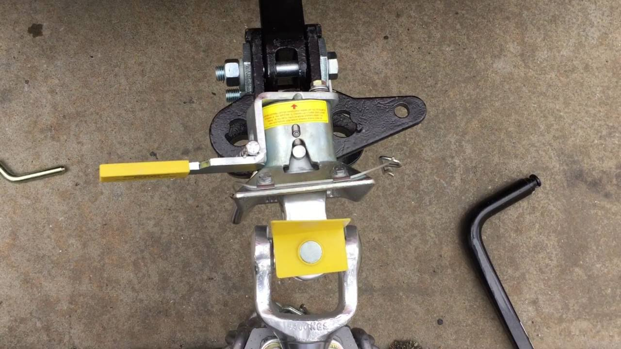 Mchitch Automatic Trailer Coupling Judged Best Hitch In