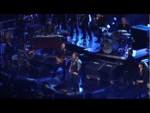 Bruce Springsteen - Wrecking Ball, 12.12.12 Sandy Relief Concert, New York MSG