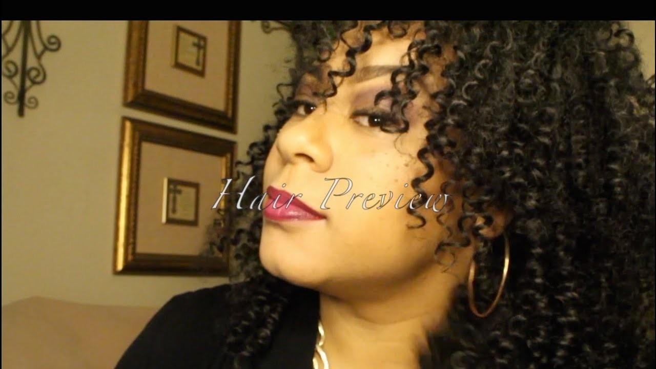 Urban Beauty Disco Jerry Curly Hair Preview Youtube