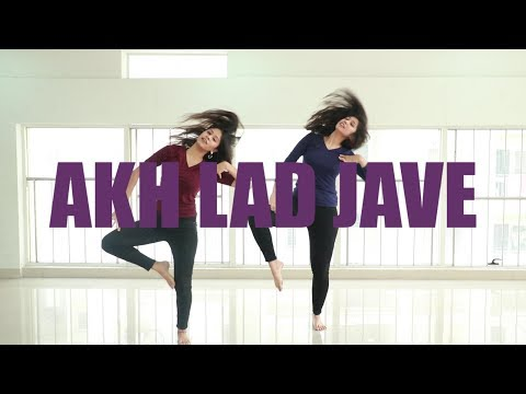 Akh Lad Jave Choreography | Loveyatri | Ni Nachle | Dance Cover