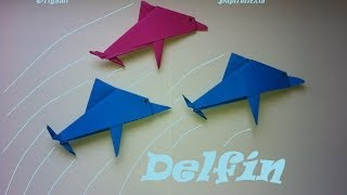 Origami - Papiroflexia. Delfín
