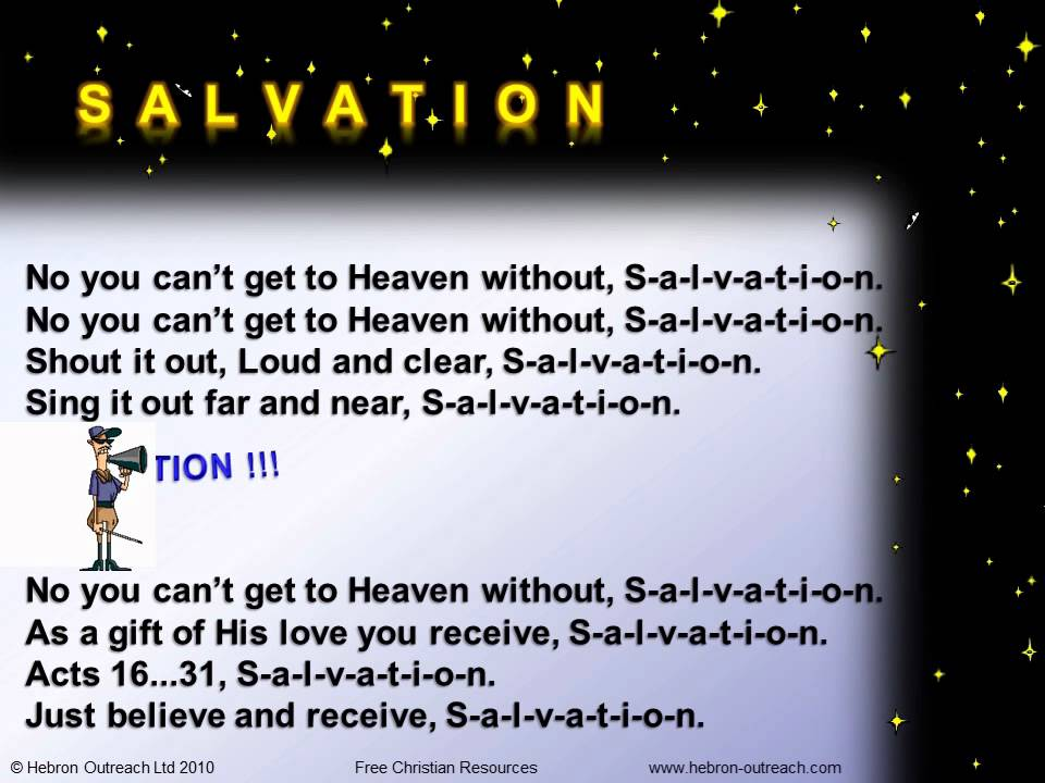 SALVATION - Chorus - hebron-outreach.com - YouTube