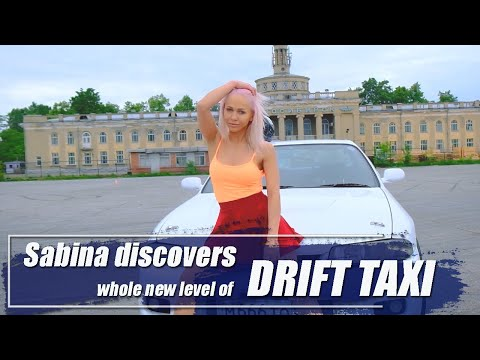 Sabina Discovers Whole New Level Of Drift Taxi