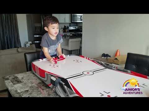 JJ Junioru0027s Adventure Episode 1  MD Sports Air Hockey Table