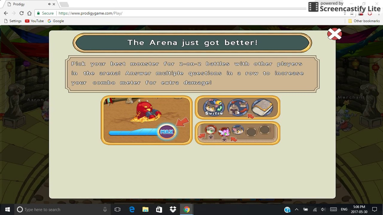 Prodigy's new Arena Update!