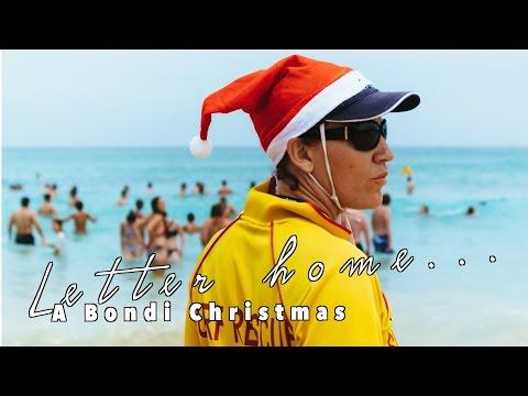 Christmas on Bondi Beach, Sydney ...A Letter Home
