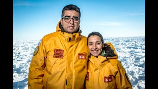Médicos cordobeses, con consultorio en la Antártida