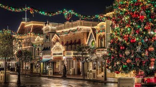 Disneyland   Main Street USA   Holiday BGM Loop