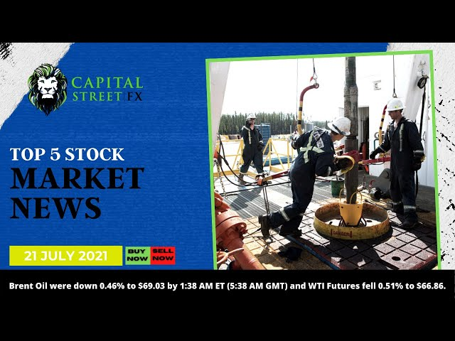 [Crude Oil Price] Technical Analysis & Oil Market News By Capital Street FX - July 21, 2021