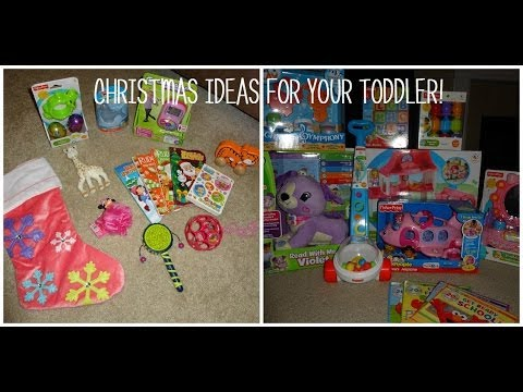 stocking stuffer and christmas gift ideas for your toddler youtube
