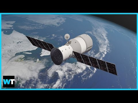 Chinese Space Station Tiangong-1 CRASHING TO EARTH! | What's Trending Now