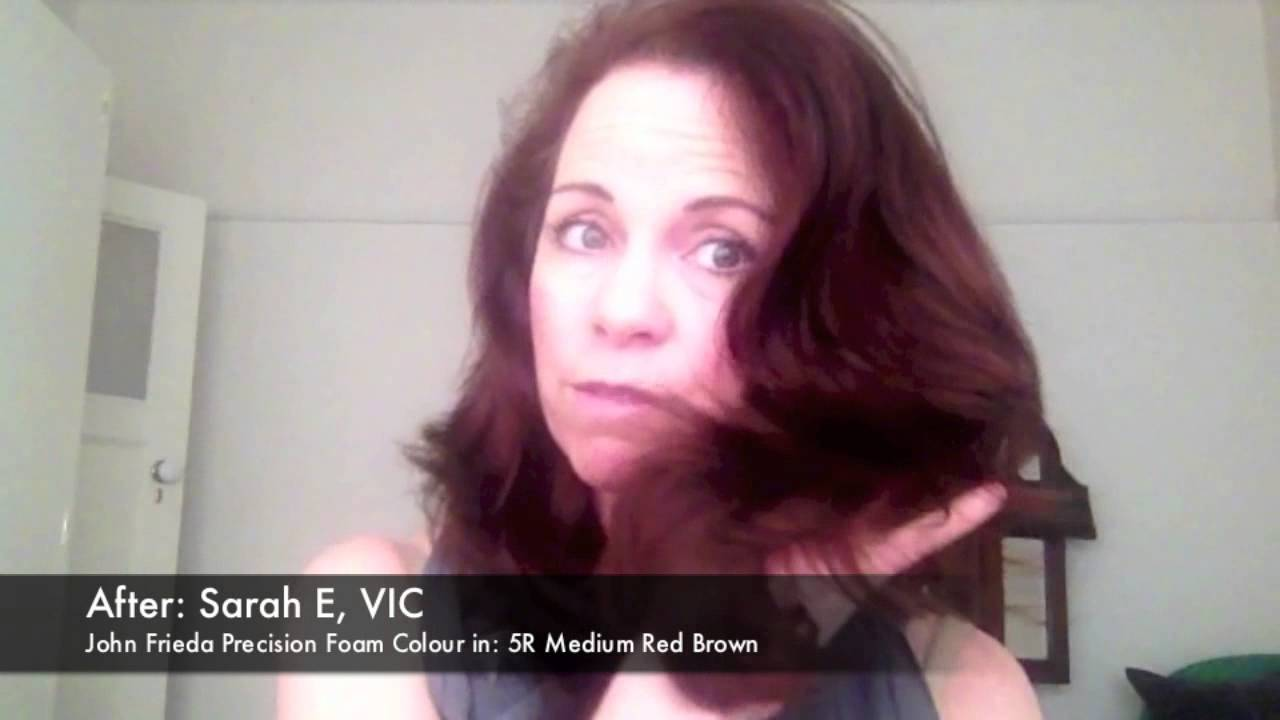 John Frieda Precision Foam Colour Reviews Youtube