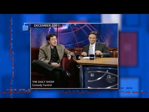 Stephen's Favorite Piece He Did With Jon Stewart