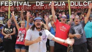 Jangueo en el Festival de Agua Dulce en Ciales