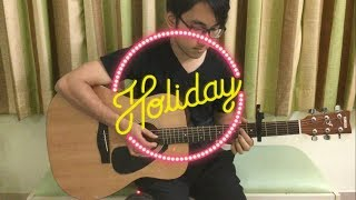 Girls' Generation 소녀시대 - Holiday - Guitar Fingerstyle Cover