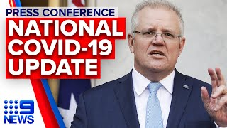 Coronavirus: PM addresses JobKeeper, aged care preparedness, vaccine search | 9News Australia