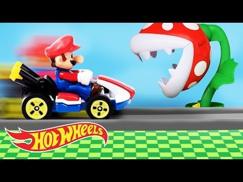 It's-a Me, A MARIO KART HOT WHEELS PARTY! | Hot Wheels