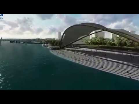 Mumbra Beach Project 2017| Thane Smart City Project | Mumbra Skywalk 2017|Latest video