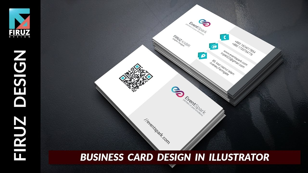 Professional business card design tutorial in illustrator youtube professional business card design tutorial in illustrator reheart Gallery