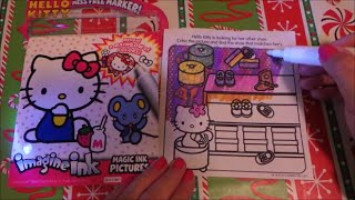 More Hello Kitty Imagine Ink Book Magic Picture Coloring by Crayola