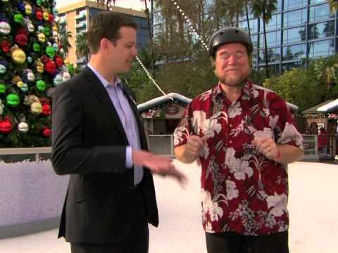 Interview with Todd Bennett, General Manager Downtown Disney District at Olaf's Frozen Ice Rink