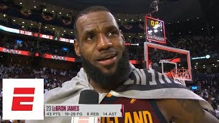 LeBron James after Game 2 win vs. Raptors: 'Kevin Love was the All-Star we know and love'   ESPN