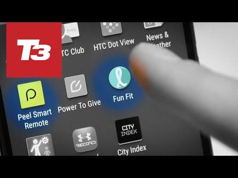 HTC One M9 - Fun Fit & Peel Smart Remote Apps