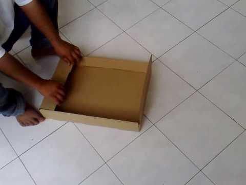 Cara Lipat Kotak Top And Bottom