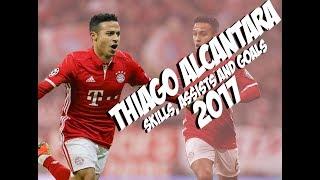 Thiago alcantara - skills and goals - bayern munich - 2016/2017