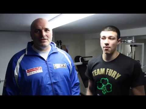 iFL TV CATCH UP WITH YOUNGEST OF THE FURY BROTHERS THOMAS FURY WITH HID DAD JOHN FURY