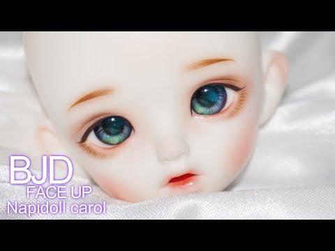 [구체관절인형 메이크업] 나피돌 캐롤 / Napidoll carol / bjd face up
