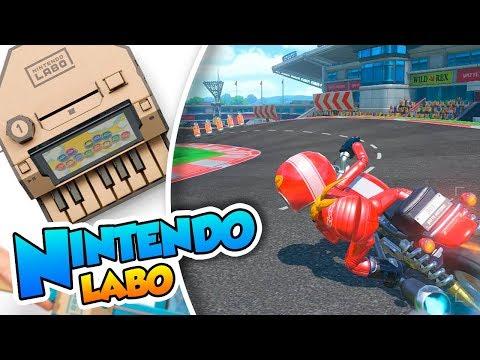 ¡Crea y compite en tus propios circuitos y estadios! - Nintendo Labo (Switch) DSimphony