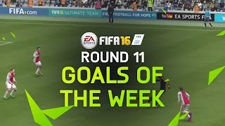 FIFA 16 - Best Goals of the Week - Round 11