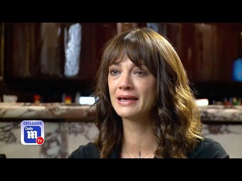 Asia Argento breaks down in Daily Mail TV exclusive