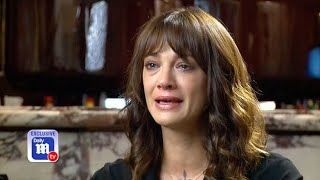 Asia Argento breaks down in Daily Mail TV exclusive interview