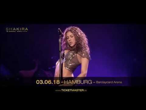 Shakira  live - Hamburg 2018   Live Nation GSA