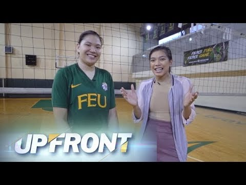 Upfront: Feisty Tamaraw Remy Palma joins Alyssa Valdez on volley moves