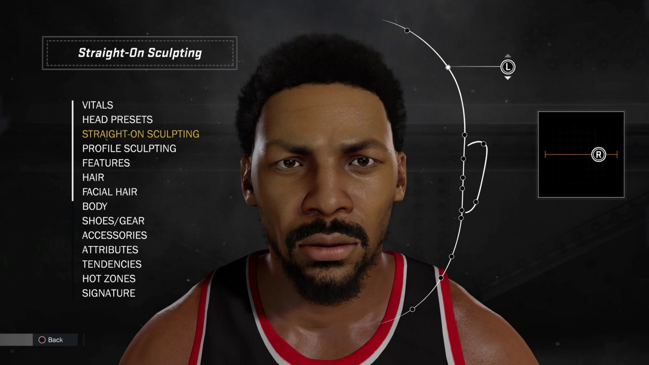 NBA 2K17 Creation Tutorial Randy Smith