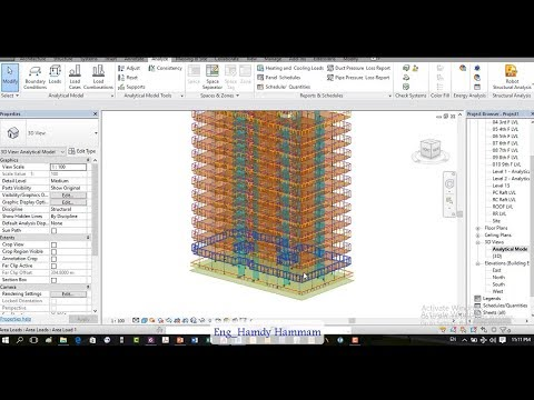 Fully completed Project modelling on Revit structure