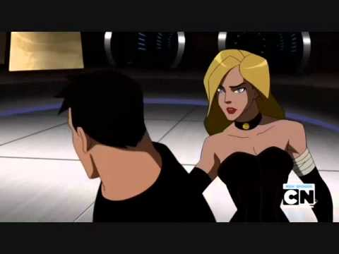 Young Justice: Black Canary Will Make a Man Out of You ...